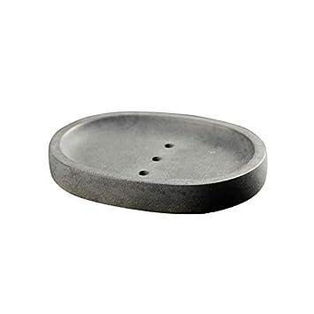 Nicole - Molde de silicona para jabón de cemento hecho a mano con forma de placa