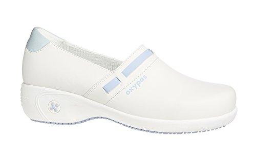 OxypasLucia - zapatos de seguridad mujer blanco - White (Lbl)