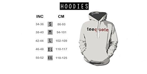 Summer Adventure Arrows Artwork Men's Hoodie Sweatshirt Black Small by Teequote (Image #1)