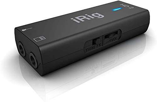 IK Multimedia iRig HD 2 Digital Guitar Interface For iPhone And Mac 3