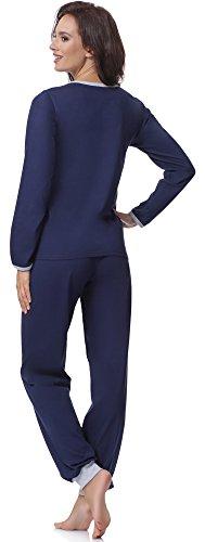Merry Style Pijama para Mujer 980 Navy