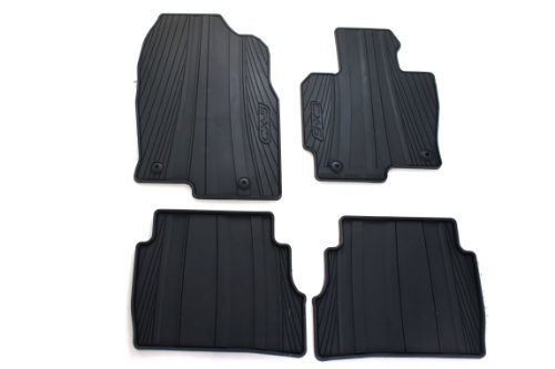 Mazda Genuine Accessories 0000-8B-R12 All-Weather Floor Mat