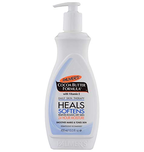Palmer's Cocoa Butter Formula Daily Skin Therapy Body Lotion  |  For All Skin Types  |  24 Hour Moisturization  |  Pump Bottle 13.5 fl. oz.
