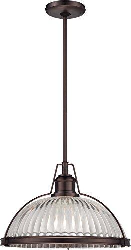 Minka Lavery Pendant Ceiling Lighting 2243-267C, Pendant Bowl, 1 Light, Bronze