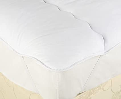 Island bed The Bettersleep Company Caravan Shaped Mattress Topper Quilted