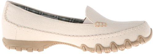 Skechers BikersCross Walk - Zapatillas de lona para mujer beige - Beige (NAT)