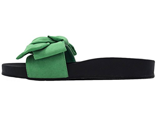 ... Max Muxun - Sandalias de vestir de Material Sintético para mujer Verde  ...