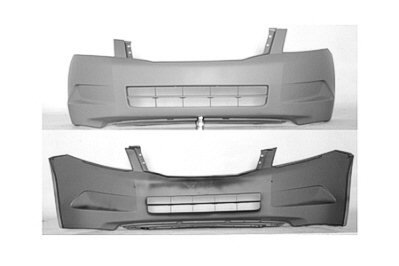 PAINTED FRONT BUMPER COVER HONDA ACCORD 2008-2009 4CY – Alabaster Silver Metallic – NH-700M