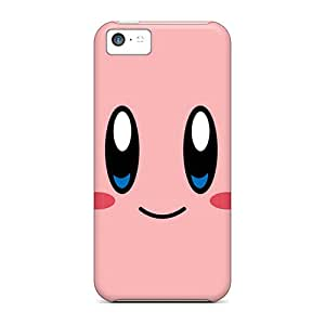 Scratch Resistant Cell-phone Hard Covers For Iphone 5c (Ker18325pfbr) Provide Private Custom High-definition Kirby Pictures