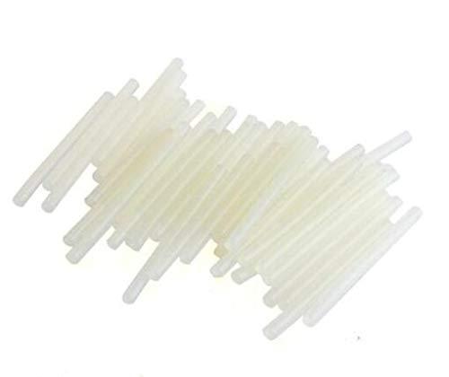 Lot de 50 Mini bâtons de Colle pour Pistolet à Colle Chaud 7 x 100 mm