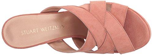 Stuart Weitzman Kvinna Waycross Glid Sandal Naken