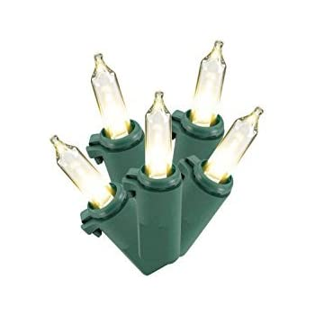 philips warm white christmas led lights 60 ct green wire 196 ft indoor or outdoor tree