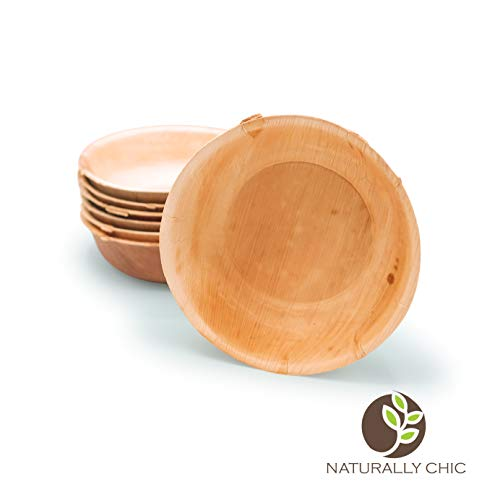 Naturally Chic Palm Leaf Compostable Bowls | 7