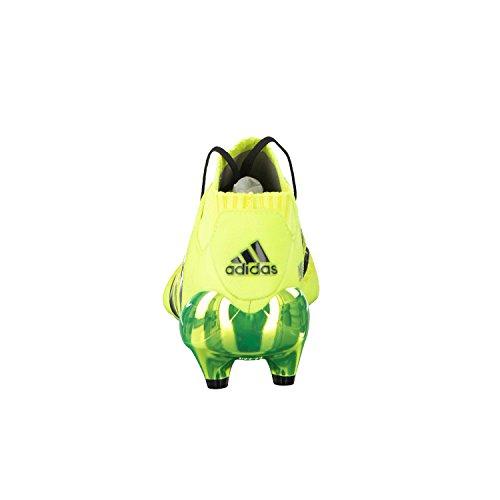 adidas Ace 16.1Prim eknit FG botas de fútbol para niños Amarillo - SYELLO/CBLACK/SILVMT