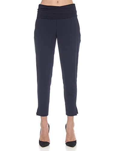 Pantalone Nina Pantalone Grace Grace Blu Nina Manila Manila XF5nwax6qH