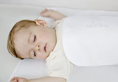Safe T Sleep Classic Sleepwrap Baby Swaddle For Bassinets Cribs And Single Beds from Safe T Sleep