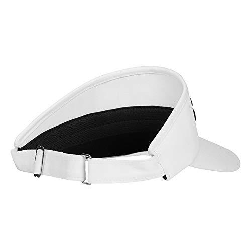 High crown golf visors
