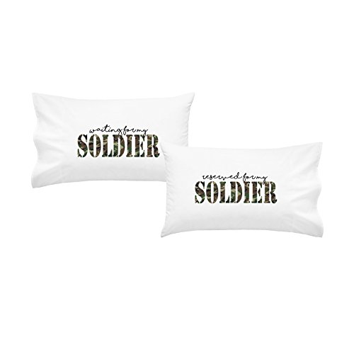 Funny Halloween Costumes For College Kids (OH,SUSANNAH Waiting For My Soldier -Reserved For My Soldier Pillowcase Set - 2 Queen Size Pillowcases)