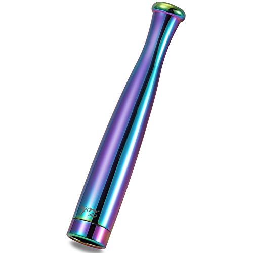 ZOBO Cigarette Filter Holder Portable Reusable Clean Tar Smoke Tobacco Filter Holder for Regular and Slim Size Cigarettes (Spectrum)