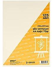 Umur A4 Kitap Kağıdı 125 Li 30013240 (1 Paket 125 Adet)