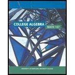 College Algebra Math 107