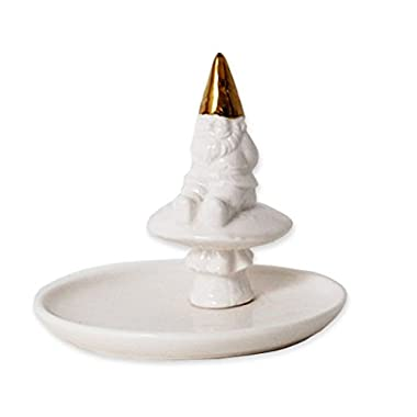 The Little Helpers Gnome Ring Holder Jewelry Trinket Dish by imm Living