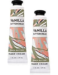 (Bath and Body Works 2 Pack Vanilla Buttercream Hand Cream. 1 oz)