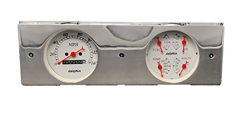 Dolphin Gauges 1946 1947 1948 1949 Plymouth 3 3/8