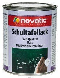 Novatic Schultafellack, Schwarz 750Ml