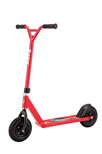 Razor Pro RDS Dirt Scooter, Red (Renewed)