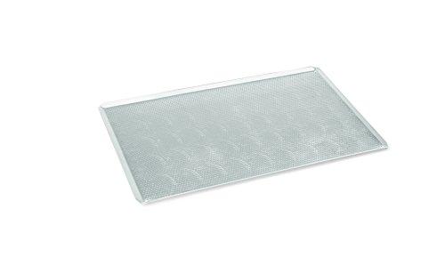 My-Gastro Alu Backblech perforiert 3 mm 60x40x2 cm Aluminium Gastro Qualität mit Perforierung
