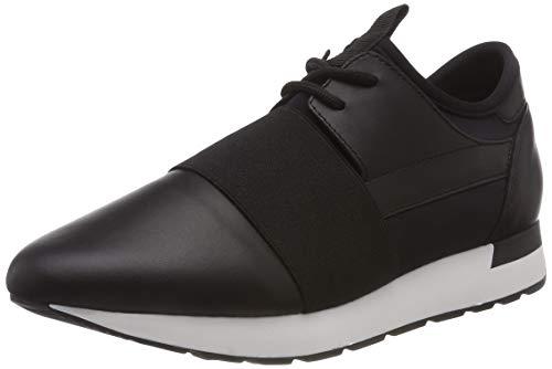 Running black Pollini Schwarz 00a Sneaker Donna Time TdxCq0w