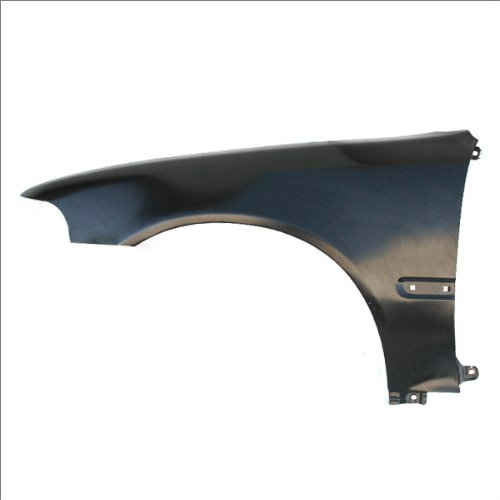 CarPartsDepot, Driver Left Side Fender Primed Steel Molding Hole Coupe Hatchback, 371-20265-01 (1992 Honda Civic Si Hatchback)