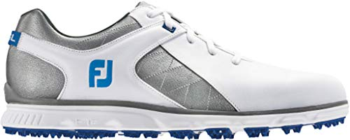 FootJoy Men's Pro/SL-Previous Season Style Golf Shoes White 9.5 M Grey/Light Blue, US from FootJoy