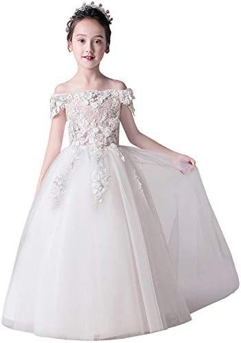 MisShow Shoulder Applique Princess Pageant