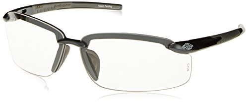 Crossfire Eyewear 2964 ES5 Safety Glasses with Gray Temples