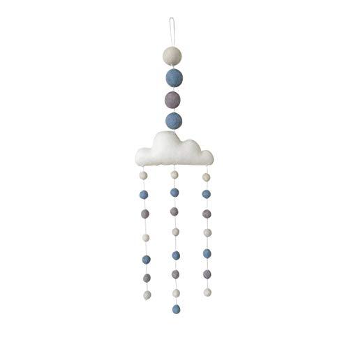 4c59eeb214f2f BLUE CLOUD BABY MOBILE - BABY BOY NURSERY DECOR - ECO FRIENDLY - HANDMADE -  NEW BABY GIFT  Amazon.co.uk  Handmade