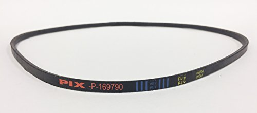 Pix Replacement Belt Made to FSP Specifications with Kevlar for Belt # 169790, 185476, 532185476. Used on Husqvarna, Poulan, Craftsman Big Wheel Trimmers