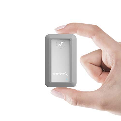 Rocket Nano Rugged 1TB USB 3.2 10Gb/s Extern aluminium waterdicht [IP67] SSD met bumperbescherming (SB-1TB-NAWP)