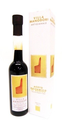 Villa Manodori Artigianale Balsamic Vinegar, 8.5 oz (Pack of 12)