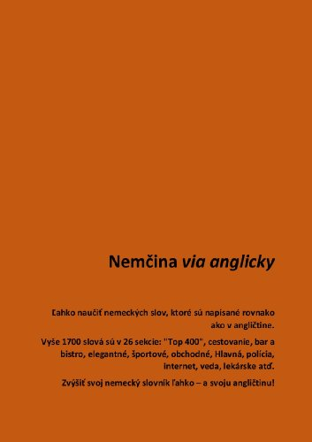 e82abc980 Nemčina via anglicky: Confident in English? Quickly learn nearly ...