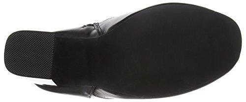 Boohoo Block Heel, Botines para Mujer Black (Black Pu)
