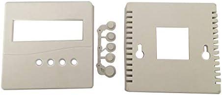 Caja de plástico para proyectos electrónicos con tapas de botón a ...