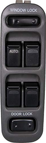 Chevrolet Tracker - APDTY 140019 Power Window & Door Lock Switch Fits Front Left 1999-2004 Chevrolet Tracker (Driver-Side; Replaces 37990-65D10-T01, 3799065D10T01, 30020880, DWS-1423)
