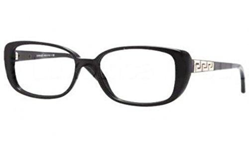 Versace Eyeglasses VE 3178-B Black GB1 - Black Sunglasses All Versace