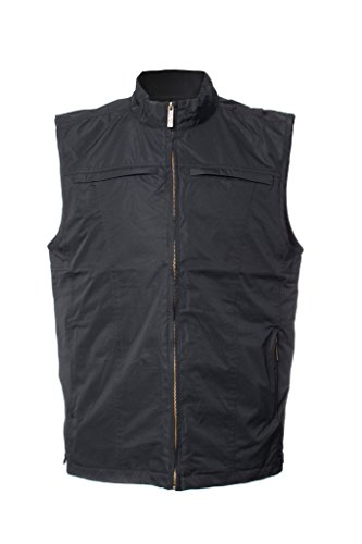 For System Dual Earphone Clothing Weatherproof Carry 26 Pockets Gilet Routing Vest Bulge Ayegear Ipad Tablets Lightweight No V26 Pockets With Concealed Black X0vq07