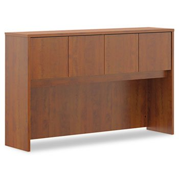 Basyx BL2183 Hutch with Doors - Medium Cherry by basyx by HON