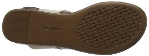 Rockport Jeanie 2 Strap Buckle, Sandales Bout Ouvert Femme Marron (Brown Multi)
