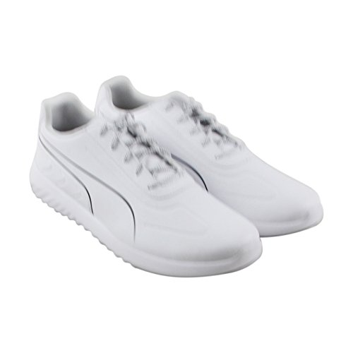 PUMA Men's BMW MS Speed Cat Synth Sneaker, White White-Team Blue, 10.5 M (Suede Cat Shoes)