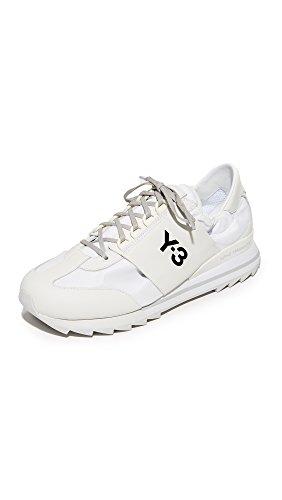 Y-3 Women's Y-3 Rhita Sport Sneakers, Crystal White/Solid Grey, 5.5 UK